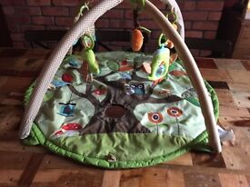 Skip and hop tree top friends baby play mat activity gym