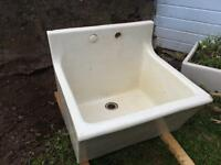 Large antique butler style sink
