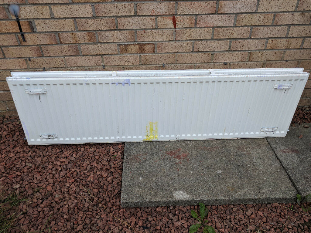 1600mm by 400mm type 21 white radiator (steelrad) £25 | in ...