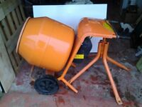 Cement Mixer Belle Minimix 150 including Stand.