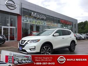 2017 Nissan Rogue SL AWD-NON-RENTAL, NAVIGATION!LEATHER