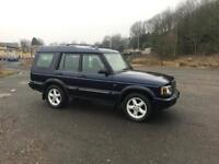 2003 Land Rover discovery adventurer td5 1 years mot
