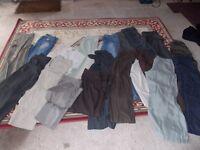 23 pairs/ladies trousers sz 12/14