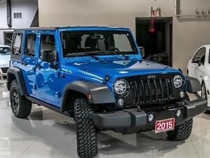 2015 Jeep Wrangler RARE WILLYS PKG|UNLIMITED|CONVERTIBLE|4x4