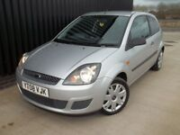 2008 Ford Fiesta 1.25 Style Climate 3dr 12 Months MOT May Px/ Swap