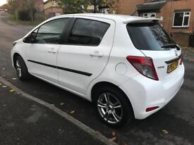 Toyota Yaris 1.33 petrol , 5 doors, very low Mileage 2012