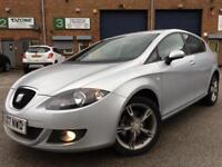 2007 SEAT LEON 1.6 STYLANCE FULL SERVICE HISTORY FR ALLOYS LOW MILEAGE HPI CLEAR