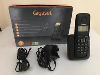 Gigaset A120 X1 Cordless Telephone - Black