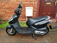 2015 Peugeot Kisbee 100 automatic scooter, 1 owner from new, runs very well, good condition, bargain