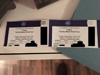 x2 Drake Boy Meets World Tour LONDON Tickets - 14th February O2 Arena