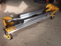 DeWalt chop saw and bench stand