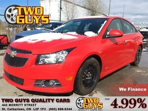 2014 Chevrolet Cruze 2LT LEATHER MOON ROOF MAG WHEELS