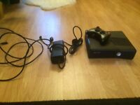 Xbox 360 in good condition, comes with all cables and controller but no original box