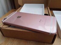 Brand New Apple iPhone 6s Rose Gold Unlocked Apple Warranty