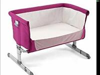 Chicco next 2 me cot crib