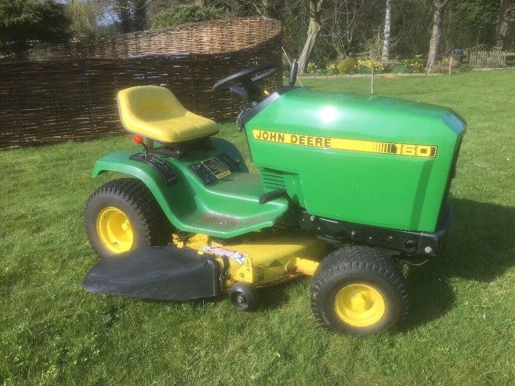 John Deere 160 Ride On Mower For Sale In Norwich