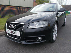 AUDI A3 SPORT BACK 2.0 TDI S LINE FULL SERVICE HISTORY AUDI STUNNING * open 7 days by appointment *