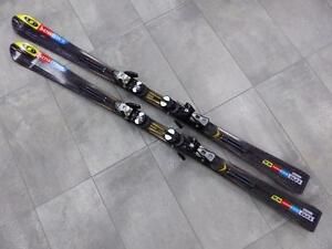 Ski Alpin SALOMOM StreetRacer 10 170 cm + fixations