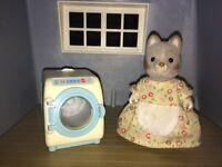 Silvanian family washing machine set