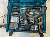 Makita 10.8 cxt brushless drill / imapct driver