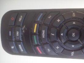 Virgin TV remote control