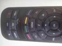 Virgin TV remote control