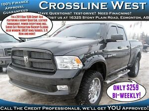 2011 Dodge Ram 1500 Sport | Custom Truck | Heated/AC Leather |