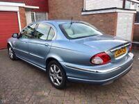 Jaguar X-type, 2004, Blue, 2.0 Diesel, 126k Low Miles, Service History, 7 Months Mot