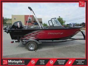 2018 Starcraft Marine Renegade 168 DC Moteur Suzuki DF90 HP (inc