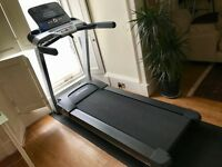Life Fitness F3 Treadmill - Folding with Track + Console