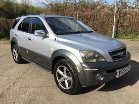 Kia Sorento 2.5 CRDi XT Manual Sat Nav + Leather