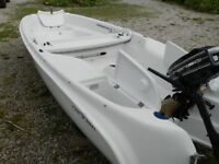 Clamboat for sale (Outboard and sails)