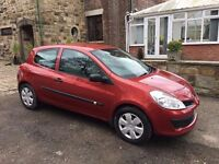 56 reg renault clio 1.5 dci diesel with long mot cheap tax only £30 a year DRIVEAWAY