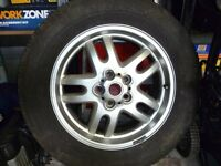 Range Rover l322 spare alloy wheel and tyre.