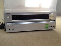 Onkyo TX-NR609 7.2 channel THX certified A/V receiver, Internet Connected, Silver finish