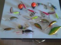 15 pike an perch lures an spinners
