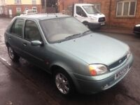 W REG FORD FIESTA 1.3 GHIA 5DR *64K DRIVES A1* BARGAIN CHEAP IDEAL 1ST FAMILY CAR NT VAUXHALL CORSA