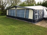 Caravan Awning for sale Ventura pacific size 22 ie 1175-1200cm