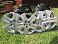 "Vauxhall 17"" wheel trims"
