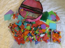 Ello Creation System Zipped Bag Girls Kids Education Toy Large bundle