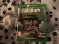 Xbox One Call of Duty WW2 game