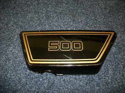 1977 <em>YAMAHA</em> XS500 <em>XS 500</em> LEFT LH SIDE COVER