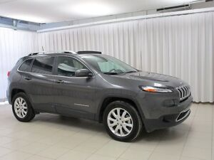 2017 Jeep Cherokee HURRY!! DON'T MISS OUT!! 4X4 LIMITED SUV w/ H