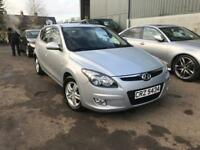 2011 HYUNDAI I30 COMFORT 1.6 CRDI FSH GREAT MPG MUST BE SEEN FINANCE
