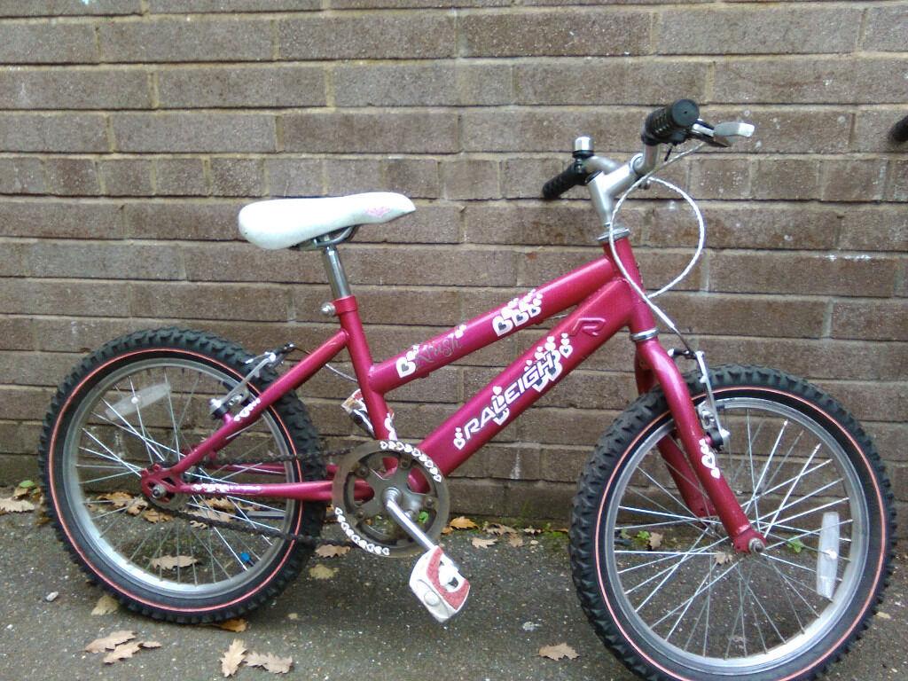Junior childs bike bicycle good order