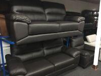 New/Ex Display ScS Leather 3 + 2 + 1 Seater Sofas