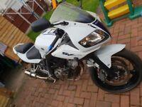 2013 suzuki sv650 1 owner from new 12 months mot