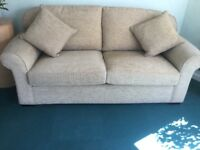Extra large sofa. Will take 3-4 adults.