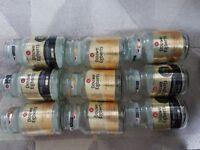 9x Douwe Egberts standard size ( 190g ) empty coffee jars.. £5 the lot.