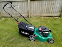 Qualcast petrol push lawnmower